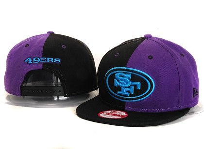San Francisco 49ers New Type Snapback Hat YS 6R36